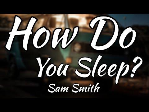 Sam Smith - How Do You Sleep? (Official Lyrics Video)