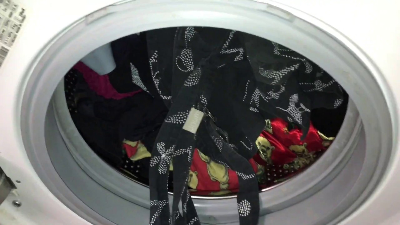 sch rze waschen in waschmaschine reinigen buntw sche vorbinder bei 60 grad wasch anleitung youtube. Black Bedroom Furniture Sets. Home Design Ideas