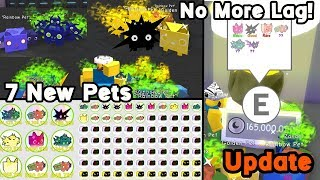 Big Update! 7 new pets!! New pet levels! RIP Coin Collection & Agility! And More! - Pet Simulator