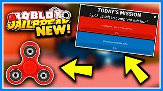 ROBLOX JAILBREAK FIDGET SPINNER MISSIONS!! 🔴 NEW UPDATE! | Murder Mystery 2 and Assassin