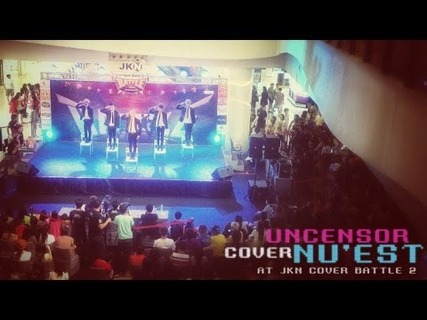 Uncensor Cover NU'EST @ JKN Cover Battle 2 | Action + Face Travel Video