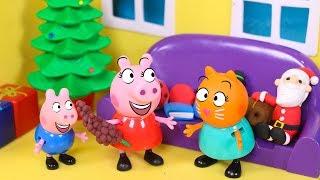 PEPPA PIG 🎉 Peppa Pig y la familia Pig celebran el año nuevo 2019