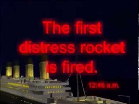 Titanic sinks in 10 minutes