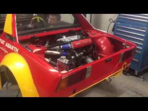 Fiat X19 Prototipo Uno turbo First start - YouTube