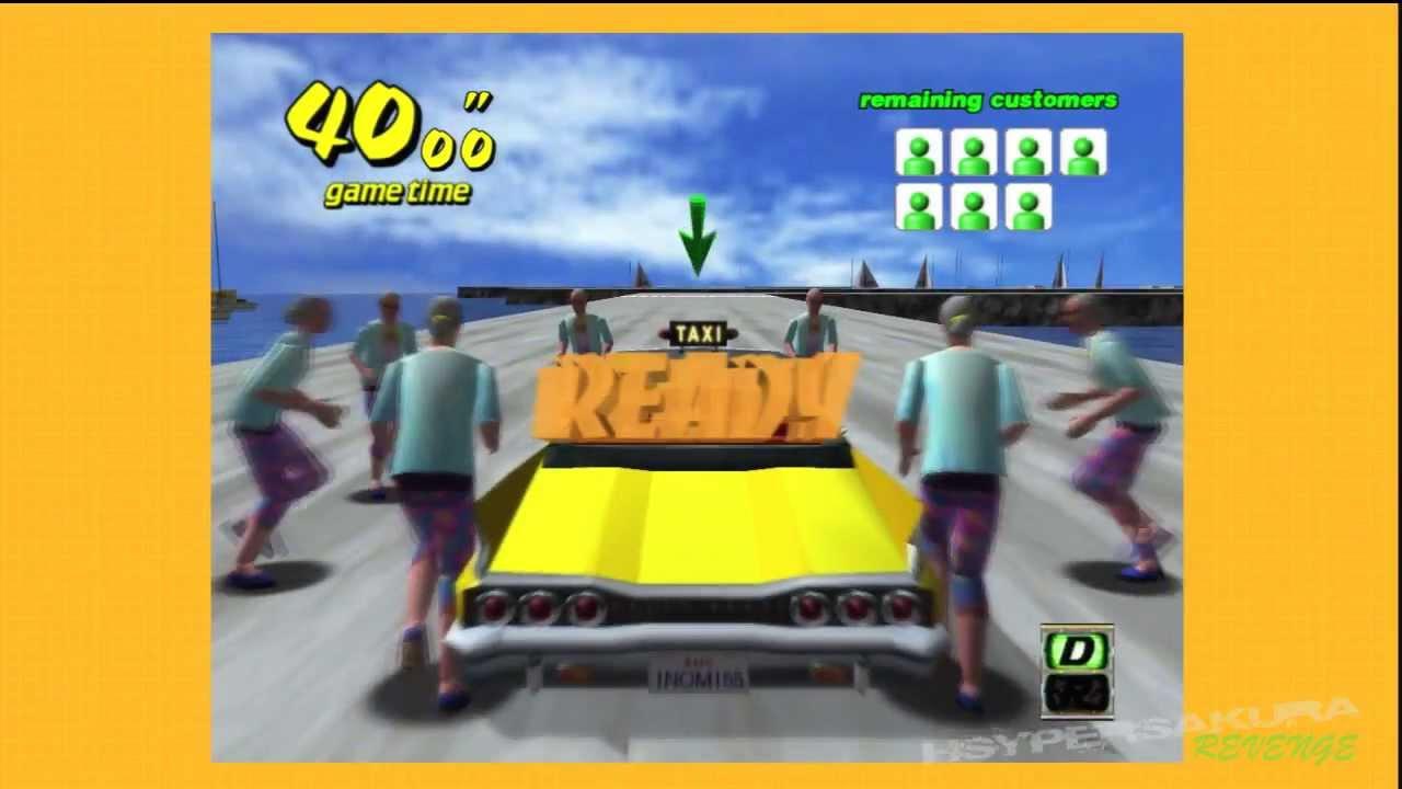 "Crazy taxi original mode ""a license"" trophy (playstation 3."