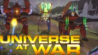 MARCH OF THE HIERACHY WALKERS Universe at War Earth Assault