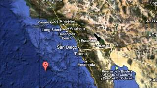 Southern California Earthquake 4.7 Magnitude March 2013