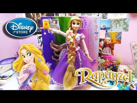 Rapunzel - Signing Deluxe Doll * Disney Store * Recensione / Review **