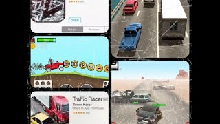 Mobile iOS Racing Genre-  3 Addicting Never Ending Games (1080p) Ipad Mini