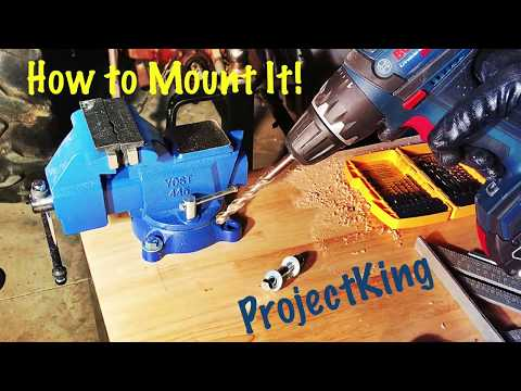 How To Control Your New Vice; DIY Bench Vise