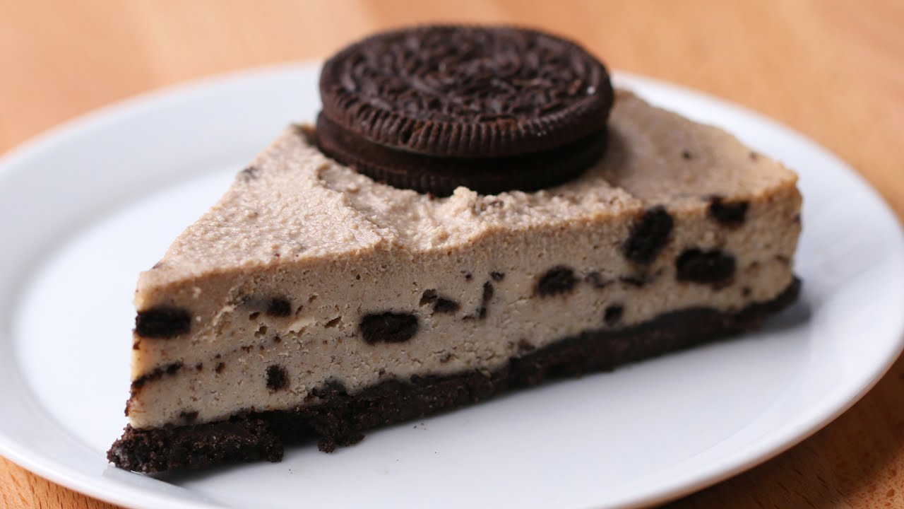 Oreo Kuchen Vegan Vegan Cookies And Cream Cheesecake