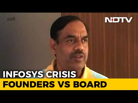 Infosys Chairman Must Quit, Says Ex-CFO Balakrishnan In Pay Package Row