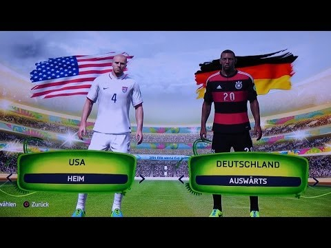 USA vs  DFB