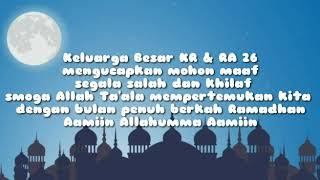 Welcom to RAMADHAN 2019_salam from KR•26•