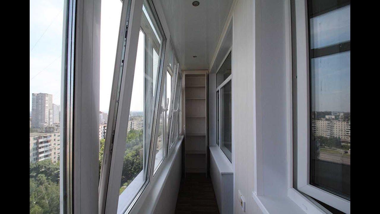 Максимус окна - пример отделки шестиметровой лоджии под ключ.
