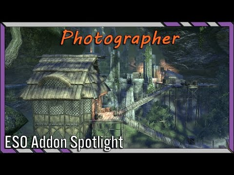 Photographer - Screenshots WITHOUT the UI! | ESO Addon Spotlight | Elder Scrolls Online Best Addons
