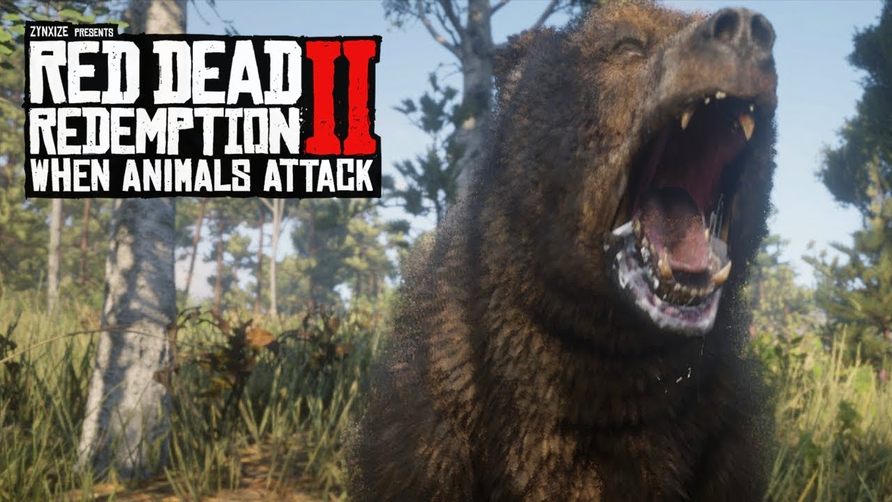When Animals Attack #4 (Red Dead Redemption 2 Brutal Moments)