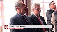 Posesión de Camilo Restrepo como Presidente de la Sede Nacional de la CCE