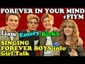FOREVER IN YOUR MIND Picks Girl for Ricky Garcia and SINGS + #FIYM Forever Boys Disney Show