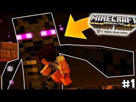 L'ENDERMAN LE PLUS GRAND DE MINECRAFT ! | Minecraft Story Mode Saison 2 | Episode 4 #1