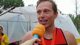 Wouter Dijkshoorn pakt zege duathlon bij eerste 'Triathlon Giesbeek'