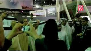 Inauguration du Salon Arabian Travel Market 2012