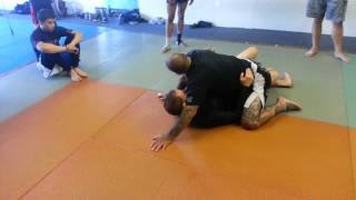 inverted half guard to mount
