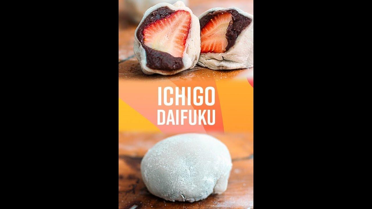 COMO FAZER ICHIGO DAIFUKU #shorts
