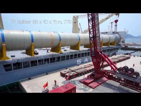 SAL:  MV Lone, Discharging Reactors in Vietnam