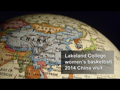 Lakeland College women's basketball 2014 China visit