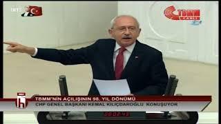 Kemal Kılıçdaroğlu konuşurken meclis karıştı: Hanımefendi özel bir sorununuz mu var?