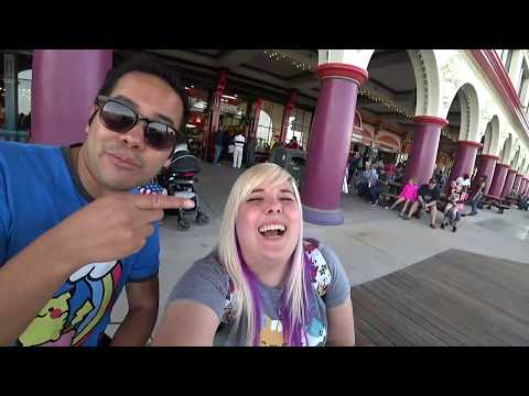 LIVE carnival games at Santa Cruz Boardwalk! | The Crane Couple LIVE!
