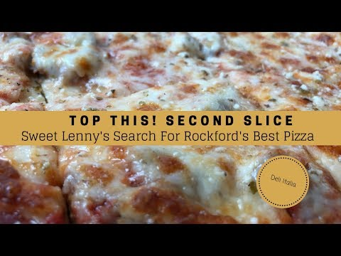 Deli Italia Cheese & Sausage Pizza - Rockford IL - Top This Second Slice