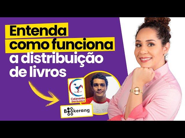 Como funciona a distribuição e venda de livros no Brasil - Bate-papo com Wendel Almeida da Catavento