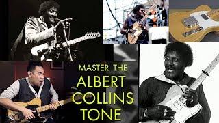 Albert Collins Tone Secŗets | TONE LAB