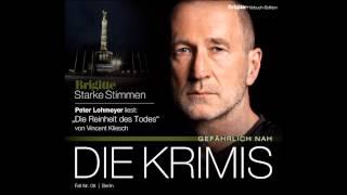 """Starke Stimmen - Peter Lohmeyer liest von Vincent Kliesch """"Die Reinheit des Todes"""""""
