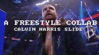 "WWE Calvin Harris ""Slide"" Freestype Collab Ft. DBF (Check Description & Comments)"