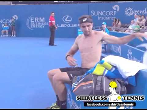 Sweaty & Shirtless Marinko Matosevic Shows Us How Fit He Is