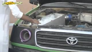 Saudi prince Driftting in a land cruiser rated #1 drifter.