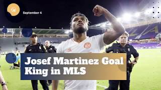 Josef Martinez New MLS Goal King