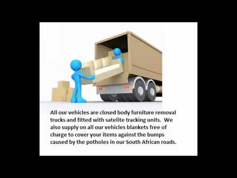 Furniture transport from Johannesburg to Cape Town