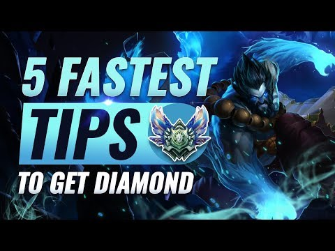 5 Fastest SHORTCUTS To Get To Diamond (All Roles) - League of Legends Season 9