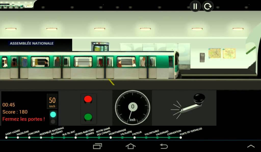 metro paris simulator ligne 12 part une youtube. Black Bedroom Furniture Sets. Home Design Ideas