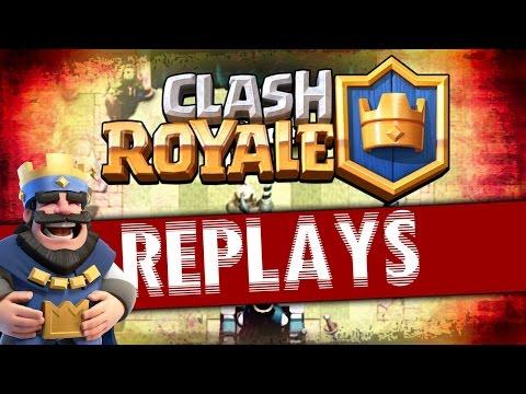 Clash Royale - Tổng hợp replay HANOI TEAM Big Tournament T7 - Day 1