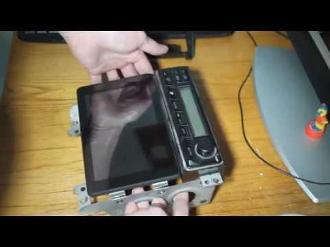 Как поставить планшет в автомобиль Nissan Laurel, вместо штатной магнитолы-1 часть