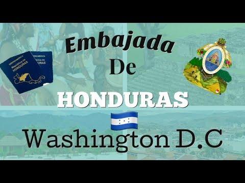 Consulado De Honduras en Washington D.C 2019/ Que NECESITO para sacar mi PASAPORTE/ DIRECCION