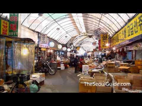 Yeongdeungpo Market in Seoul, South Korea