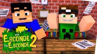 Minecraft: VOLTA ÀS AULAS! (Esconde-Esconde 2)