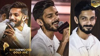 Anirudh Surprises Public with Marana Mass Live Singing and Grand Entry!