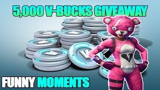 Rocket station Alpha - Fortnite funny Moments FACE REVEAL!!!! ( V-bucks giveaway,QNA,and more!)